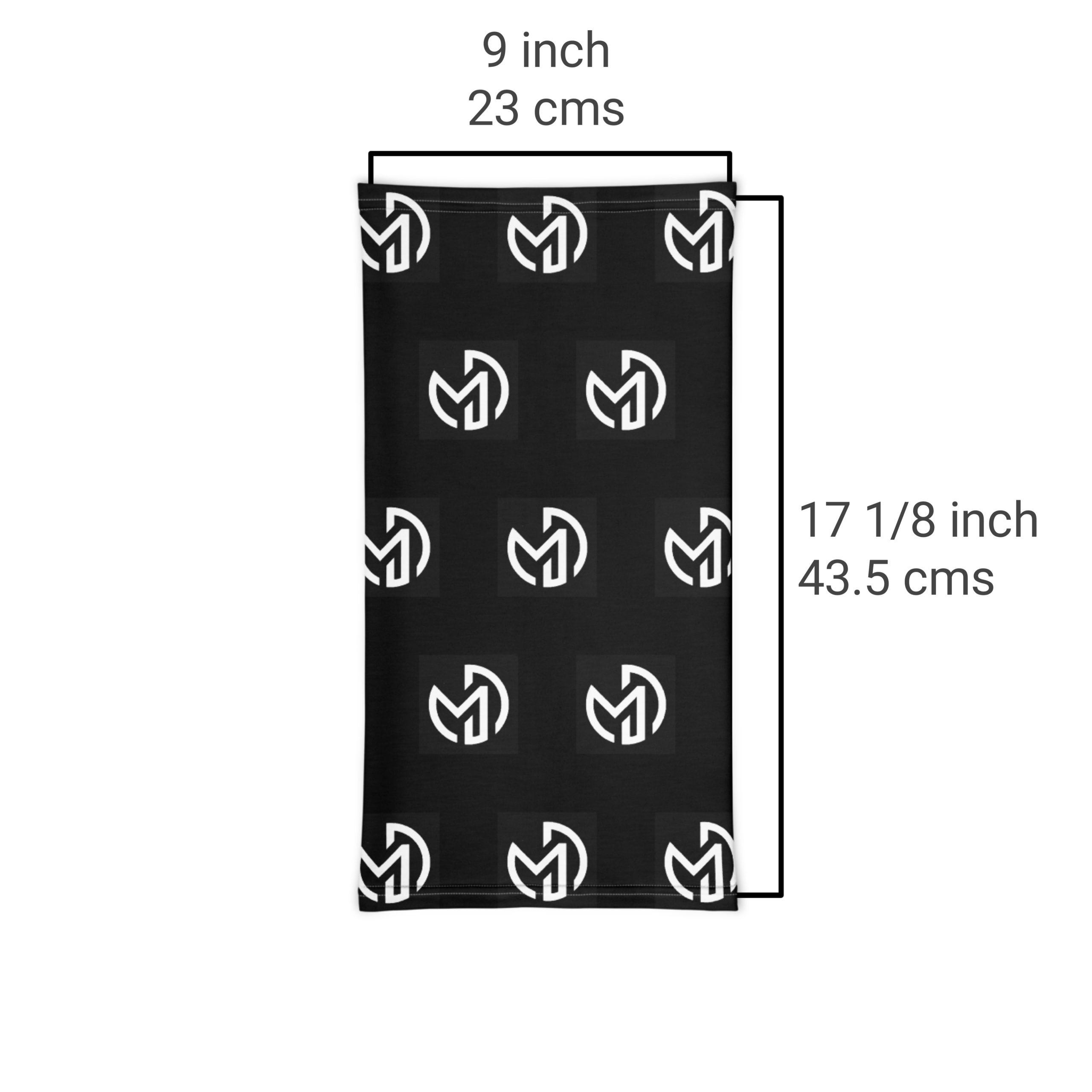 Neck Gaiter Size Chart