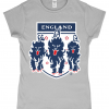 Ladies England 3 Lions T-Shirt