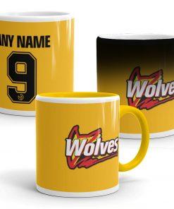 Wolves Football Mug